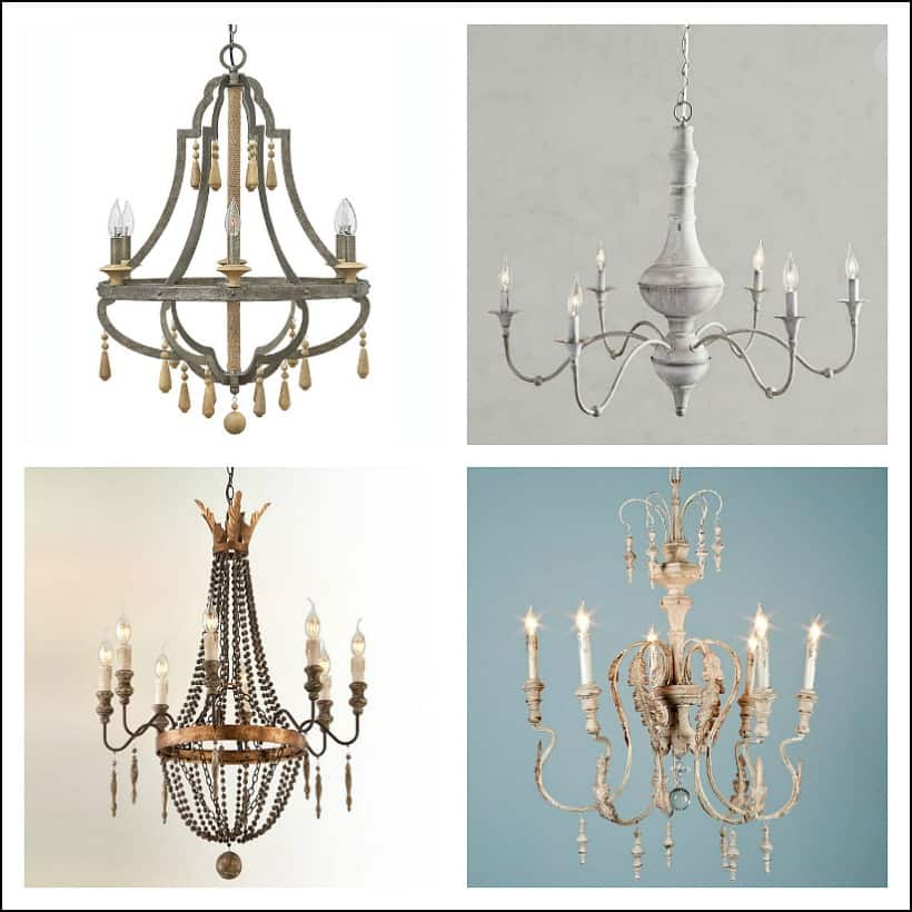 Chandelier inspiration pictures.