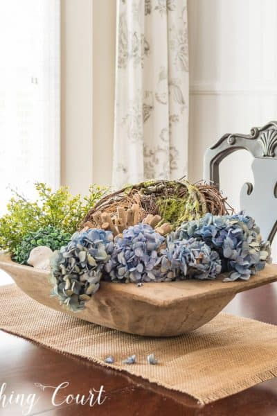 doughbowl spring centerpiece