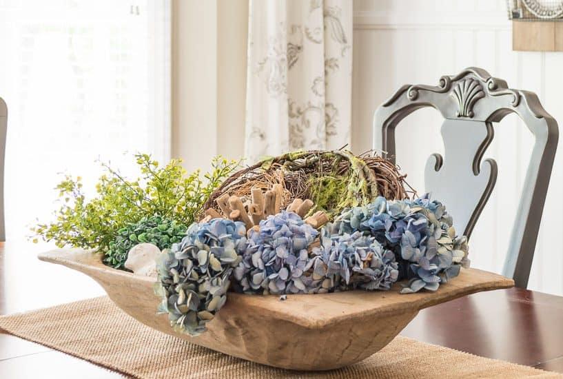 doughbowl spring centerpiece