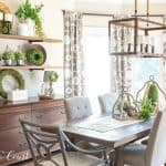 How I Shopped My House And Decorated My Shelves For Spring