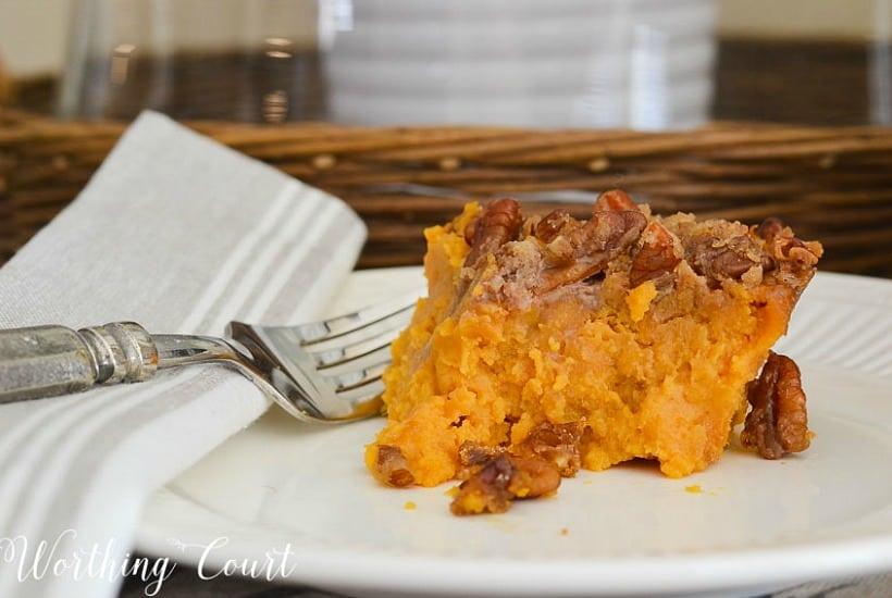 photo of sweet potato casserole recipe