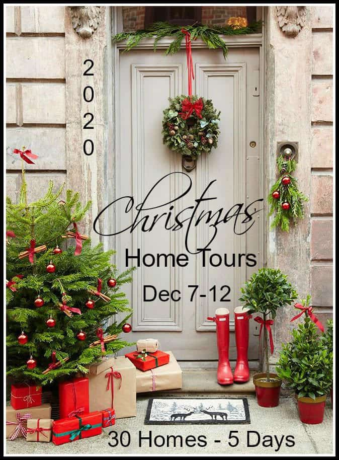 graphic for Christmas Home Tours