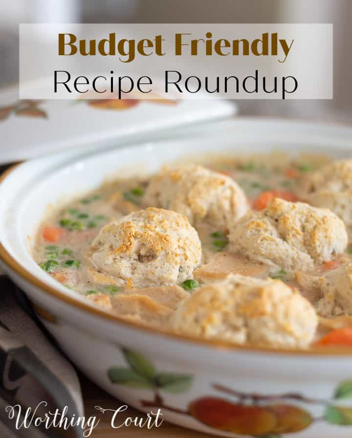 recipe roundup Pinterest image
