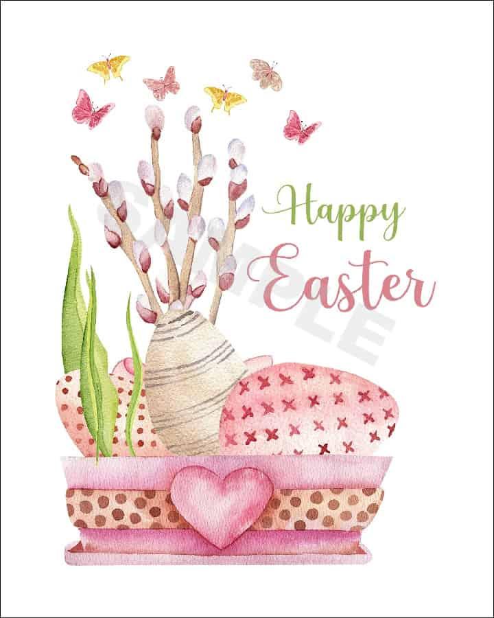 Image of Easter printable